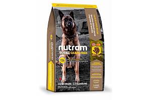 T26 Nutram Total Grain-Free Lamb & Lentils сухий корм для цуценят і дорослих собак, 2.72 кг