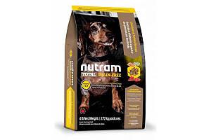 T27 Nutram Total Grain-Free Turkey & Chiken Small Breed Dog Food сухий корм для собак малих порід, 320 г