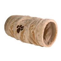 Игровой тоннель для кота,плюш 22х60 см