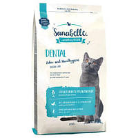 Sanabelle DENTAL 10 кг - корм для профілактики захворювань зубної системи у кішок (Санабель Дентал)