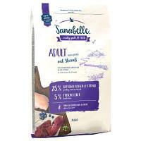 Sanabelle Adult Ostrich 2 кг - корм для дорослих кішок домашнього утримання (Санабель Едалт, страус)
