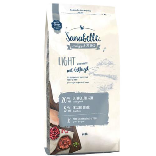Sanabelle Light 2 кг - корм для кішок схильних до надмірної ваги (Санабель Лайт)