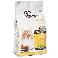 1st Choice Senior Mature Less Aktiv 2.72 кг ФЕСТ ЧОЙС корм для пожилых и малоактивных котов