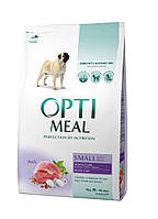 Optimeal Small Adult Dogs With Duck 12 кг - корм для собак малих порід з качкою