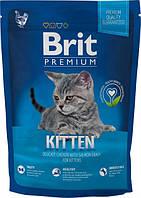 Brit Premium Cat Kitten 1,5 кг Сухой корм для котят от 1 до 12 месяцев с курицей и рисом