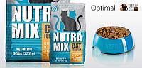 Корм Nutra Mix Optimal 9.07 кг для кішок з рисом, м'ясом курки і морепродуктами