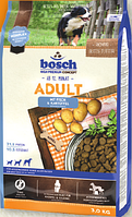 Bosch Adult Fish & Potato 3 кг - корм для собак з середньою активність (риба картопля)
