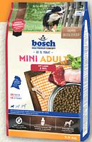Bosch Mini Adult Lamb & Rice 3 кг - корм для собак маленьких порід (вагою до 15-ти кг)