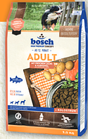 Bosch Adult Salmon & Potato 15 кг - корм для дорослих собак (лосось картопля)