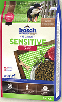 Bosch Sensitive Lamb & Rice 3 кг - корм для собак схильних до алергії (ягня рис)