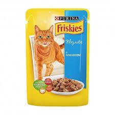 Friskies (Фріскіс) консерви для котів з лососем в підливі 85 г * 26 шт