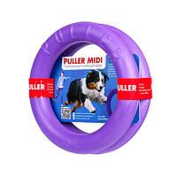 Тренировочный снаряд PULLER MIDI диаметр 20 см, 2 кольца - для собак средних пород