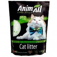 AnimАll Зелёный холм 3.8 л, 1.5 кг - Силикагелевый наполнитель для кошачьего туалета