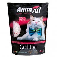 Animall Розовый лепесток 3.8 л, 1.5 кг - Силикагелевый наполнитель для кошачьего туалета