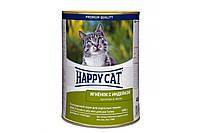 Консерва Happy Cat Dose Lamm & Truth Gelee для взрослых кошек весом около 4 кг, с ягненком, 400 г