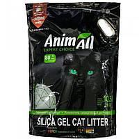 AnimАll Зелёный изумруд 10.5 л, 4.6 кг Силикагелевый наполнитель для кошачьего туалета