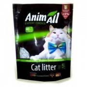 AnimАll Зелёный изумруд 5 л, 2.2 кг - Силикагелевый наполнитель для кошачьего туалета