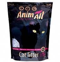 AnimАll Фиолетовый аметист 5 л, 2.2 кг - Силикагелевый наполнитель для кошачьего туалета