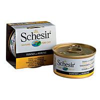 Schesir Tuna Surimi тунець з сурімі в желе натуральні консерви для котів 85 г * 14 шт