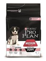 Корм Pro Plan Puppy Medium Sensitive 12 кг для щенков средних пород с лососем