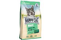 Сухий корм Happy Cat Minkas Perfect Mix 10 кг для дорослих кішок, c птахом, ягням і рисом