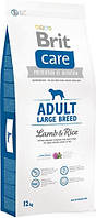 Brit Care Adult Large Breed Lamb & rice 12 кг - корм для дорослих собак великих порід з м'ясом ягняти і рисом