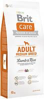 Brit Care Adult Medium Breed Lamb & rice 12 кг Сухий корм для дорослих собак середніх порід з ягням і рисом