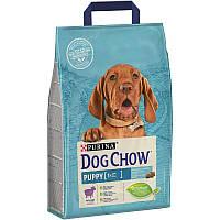 Корм Dog Chow Puppy Lamb 14 кг для цуценят з ягням