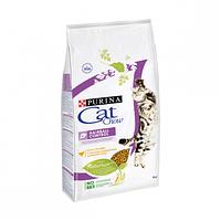Корм Cat Chow Hairball 15 кг для выведения комков шерсти