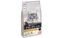 Корм Pro Plan Elegant 10 кг с лососем для котов и кошек с чувствительной кожей