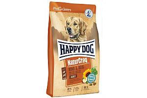 Корм Happy Dog Adult NaturCroq Rind & Reis 15 кг для взрослых собак, с говядиной и рисом