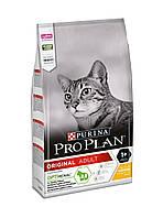 Корм Pro Plan Adult Chicken 10 кг для дорослих котів і кішок з куркою
