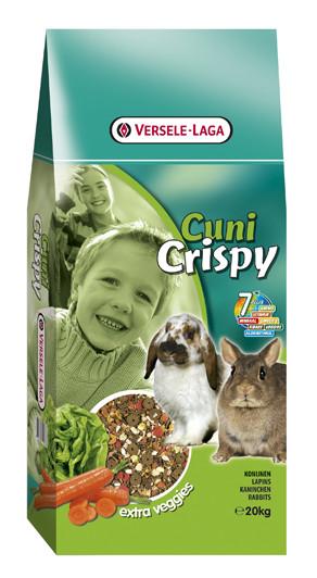 Корм для карликовых кроликов Versele-Laga Cuni Crispy Muesli 20 кг