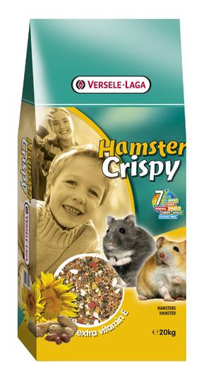 Корм для хомяков, крыс, мышей и песчанок Versele-Laga Hamster Crispy Muesli 20 кг