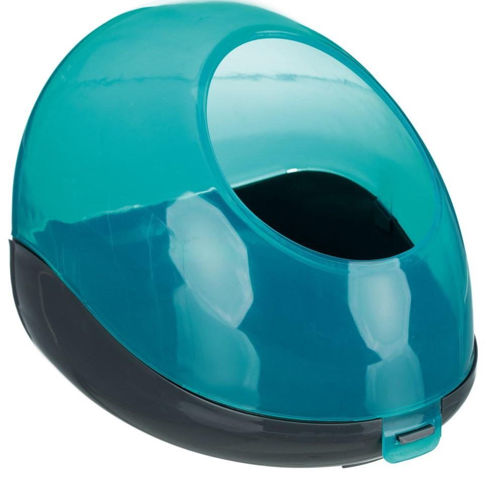 Пластиковая купалка для шиншилл и дегу Trixie 27х18х16 см