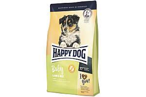 Корм Happy Dog Baby Lamb & Rice 10 кг для щенков средних и крупных пород от 4 недели до 6 месяцев