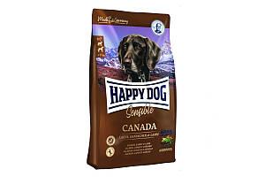 Корм Happy Dog Canada 12,5 кг для взрослых собак с 6 месяцев с чувствительным пищеварением, с лососем
