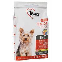 1st Choice Senior Toy&Small Breeds 7 кг корм для пожилых или малоактивных собак мини и малых пород
