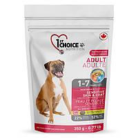 1st Choice Sensitive Skin&Coat Adult Lamb&Fish 15 кг корм для взрослых собак с ягненком и рыбой