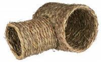 Тоннель плетённый для кроликов и морских свинок (сено)