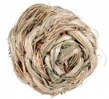 Мяч из сухой травы (внутри колокольчик) 6см