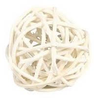 Мяч для грызунов из ивняка 4 см