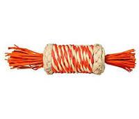 Іграшка для гризунів циліндр плетений 18см (солома)
