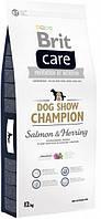 Brit Care Dog Show Champion 12 кг - Сухий корм для виставкових собак з лососем