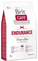 Brit Care Endurance 3 кг - Сухий корм для активних собак всіх порід з качкою і рисом