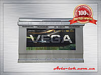 Аккумулятор Vega LE 6CT-74-0 74Ah/720A R+ 0 (ВЕГА) WESTA (ВЕСТА) Автомобильный АКБ Кислотный Украина НДС