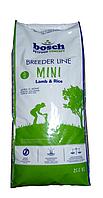 Bosch Breeder Mini Lamb & Rice 20 кг - корм для собак дрібних порід (до 15 кг) з ягням і рисом