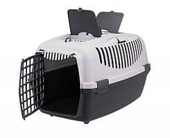 Переноска для собак и кошек Capri 3 61х40х38 см, серый (до 12 кг)