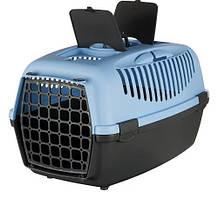 Переноска для собак и кошек Capri 3 61х40х38 см, синий (до 12 кг)