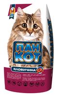 Корм для кішок Пан Кот з яловичиною 10 кг